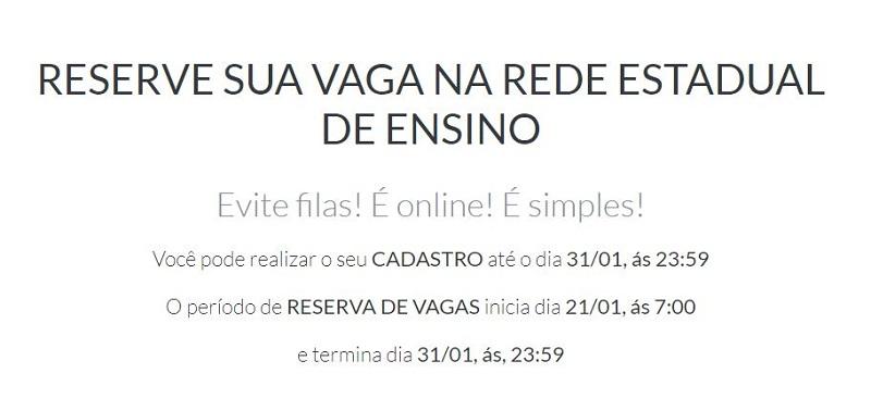 Matrícula Online SEDUC RO