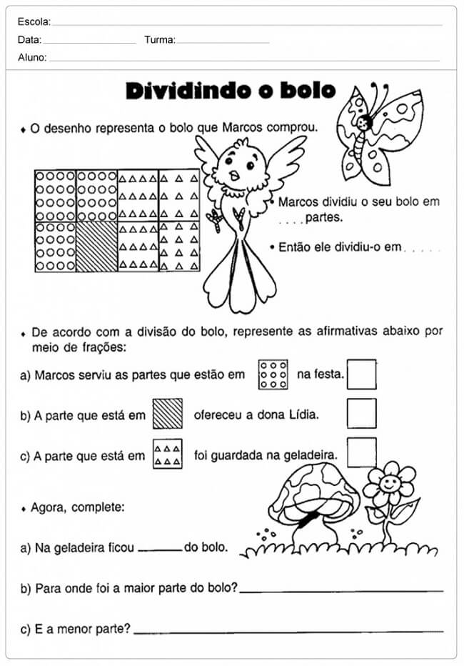 Atividades De Matematica Para Educacao Infantil 1º Ao 5º Ano