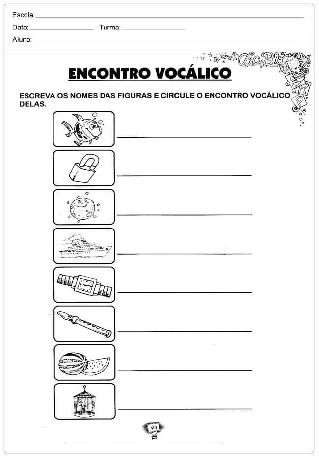 Atividades De Portugues Para 3º Ano Ortografia Para Imprimir