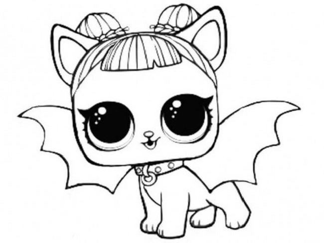 Desenhos Para Colorir Lol Bebe Pets Raros