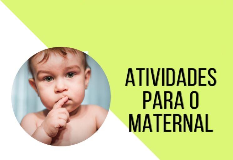 Atividades para Maternal