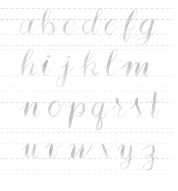 Lettering para Imprimir