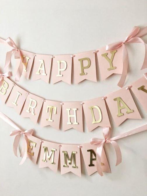 Moldes de Letras para Aniversário